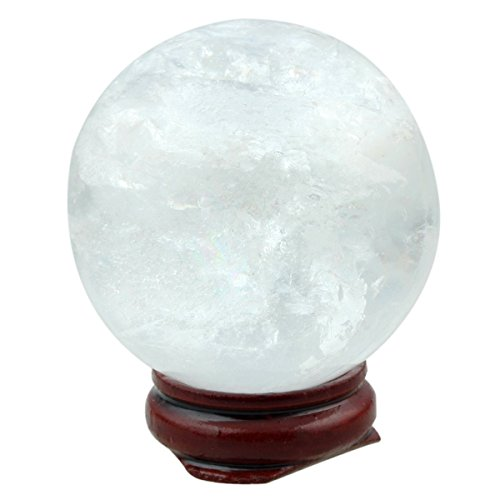 quartz crystal sphere - 4