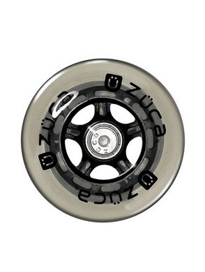 Zuca Non Flashing Wheels (Set of 2, 100mm) Replacement for Zuca Sport Frame by ZUCA
