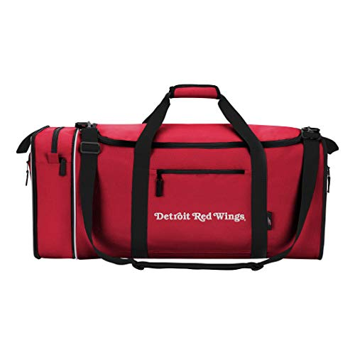 Officially Licensed NHL Detroit Red Wings Steal Duffel Bag