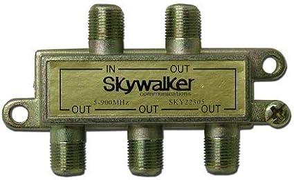 Skywalker Signature Series Splitter 5-900MHz 4 way