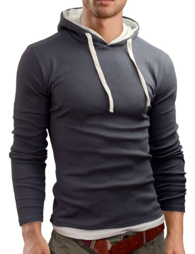 Grin&Bear Men's Long Sleeve Hoodie at Amazon Men's Clothing store ...