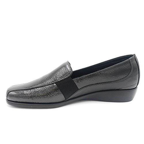 Grunland Women's Flats Loafer Anthracite Grey rrxwd0q6a