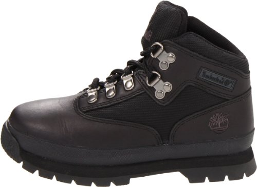 Rise Unisex Hiker Timberland Kids' Euro Black Boots Low Hiking BZqgRX64
