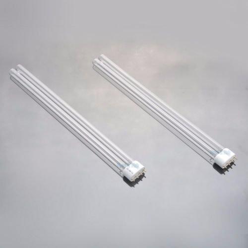 (H&H) 2 PCS 36W Watt UV Light Bulb 2G11 Base for Aquarium UVC (36w Pc)