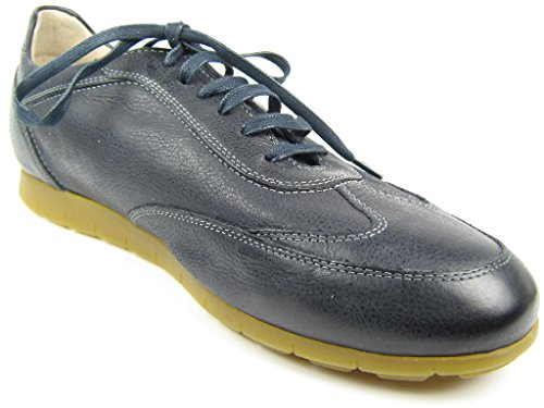 Sioux Deno, Men Low-Top Trainers Blue