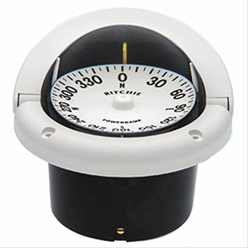 Ritchie HF-742W Helmsman Compass - Flush Mount - White consumer (Helmsman Flush)