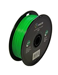 1,75 mm PLA 3d Printer Filament 1 kg Spool (2.2 libras), color verde Dimensional precisión +  0,03 mm