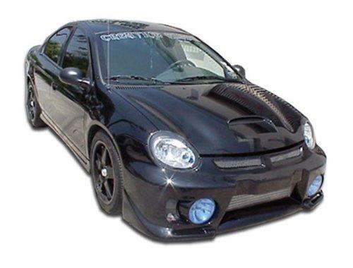 - Duraflex ED-LPR-048 Evo 5 Front Bumper Cover - 1 Piece Body Kit - Compatible For Dodge Neon 2003-2005