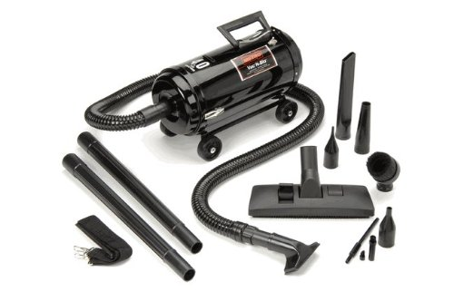 Metro Vac N Blo Portable Vacuum with 4 Wheel Dolly by Metro