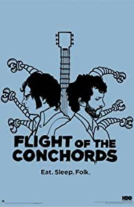 Flight Of The Conchords Poster Print, 24x36 Poster Print, 24x36