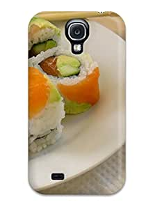 Oscar M. Gilbert's Shop Galaxy S4 Case Cover Skin : Premium High Quality Food Sushi Case 6667420K50307089
