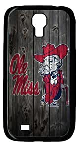 Ole Miss Rebels Samsung Galaxy S4 I9500 Case by mcsharks