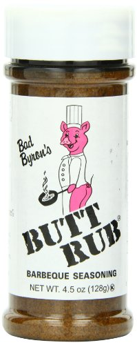 Bad Byron's Butt Rub Barbecue Seasoning, 4.5 Ounce