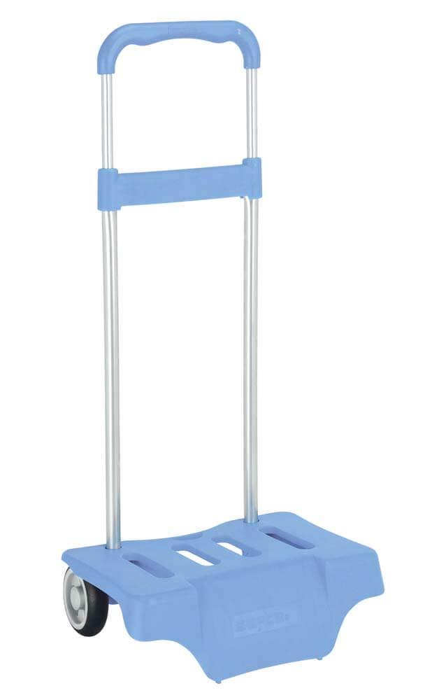 l/éger r/ésistant avec poign/ée extractible et roues Safta Trolley pour les sacs /à dos d/école pliable