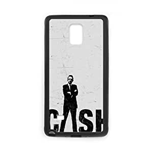 Chinese Johnny Cash Cheap Cover Case for Samsung Galaxy Note 4,diy Chinese Johnny Cash Cell Phone Case