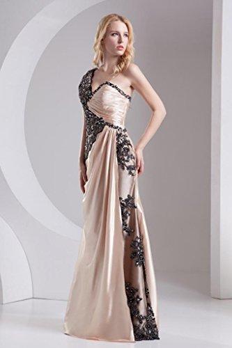Asymmetrische Design Schulter ROSA Abendkleid Perlen GEORGE Ein BRIDE Perle fqZwHO1U