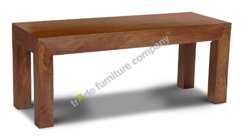 Dakota Mango Furniture Bench 110cm - Dining Room Furniture 73N