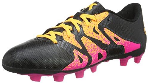adidas X 15.4 Fxg Herren Fußballschuhe Schwarz (Core Black/Shock Pink/Solar Gold)
