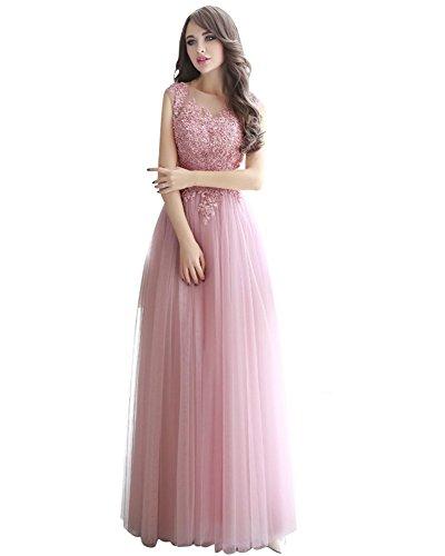 Pink Donna Impero Stile Drasawee Vestito x1q01FU