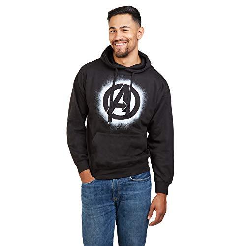 Marvel Herren The Avengers Stencil Logo T-Shirt