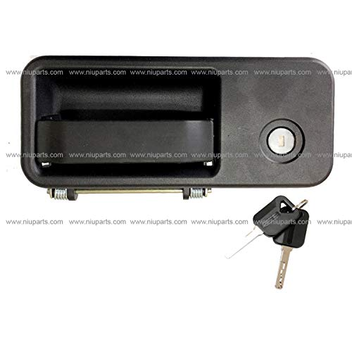 - Exterior Cabin Door Handle With Lock and 2 Keys - Driver Side (Fit: Volvo VNL 630 670 730 780 680 Trucks 2005-2018)