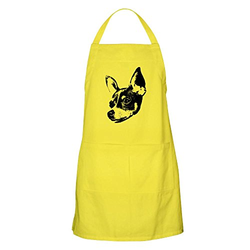 CafePress Toy Fox Terrier BBQ Apron Kitchen Apron with Pockets, Grilling Apron, Baking Apron