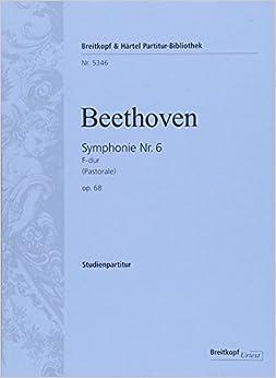 ベートーヴェン:交響曲 第6番 ヘ長調 Op.68 「田園」/ブライトコップ & ヘルテル社/スコア
