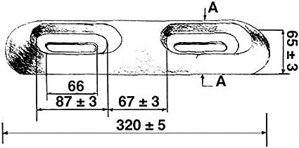 TALAMEX V/íctimas anoden Diferentes tama/ños y Tipos