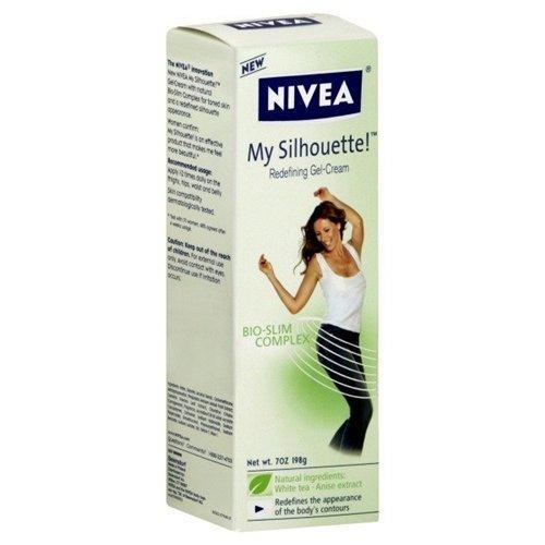 Nivea My Silhouette, Redefining Gel-crème, Bio-Slim Complex, 7-Ounce Tubes (Pack de 2)