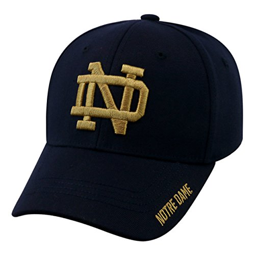 Notre Dame Fighting Irish Official NCAA One Fit Premium Cuff Hat Cap by Top of the World 148151