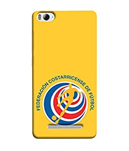 ColorKing Football Costa Rica 07 Yellow shell case cover for Xiaomi Redmi 4A
