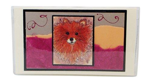 (Pomeranian Checkbook Cover Made in The USA)