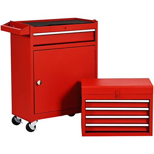 Rolling Tool Chest, Removable Tool Cabinet