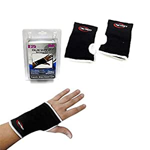 2 Palm Wrist Hand Brace Elastic Support Carpal Tunnel Tendonitis Pain Relief New