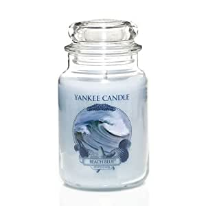 Beach Blue - 22 Oz Large Jar Yankee Candle Candle - Limited Edition