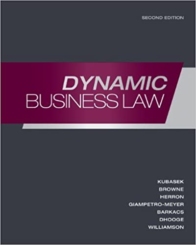 Dynamic Business Law Pdf