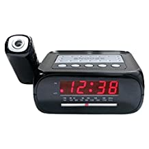 Supersonic SC-371 Digital Projection Alarm Clock with AM/FM Radio by SUPERSONIC