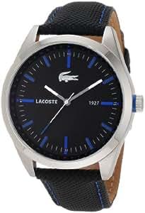 Lacoste 2010597 - Reloj unisex, correa de tela color negro