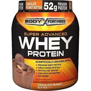 Body Fortress Super Advanced Whey Protein 2lb (Chocolate Peanut Butter, 2 Pack) by Body Fortress