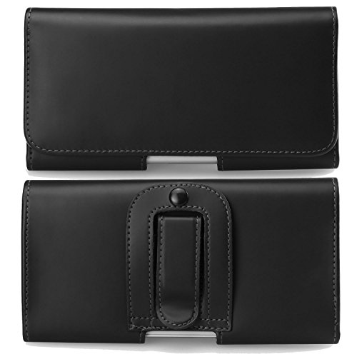 - Executive Smooth PU Leather Horizontal Belt Clip Case Holster for BLU Vivo One / Studio J8M / Dash L5 / Grand M2 / C5 / S1 / Blackberry DTEK50
