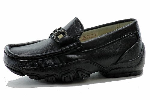 Easy Strider Boys The Performance Fashion Loafer School Uniform Shoes Black