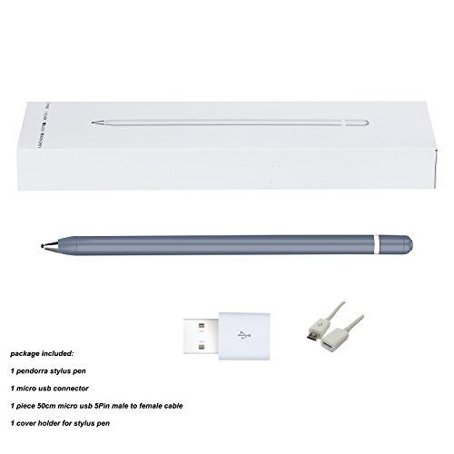 Pendorra - Active Fine Point Precision Stylus Pen Drawing Pencil (Grey) by Pendorra (Image #5)