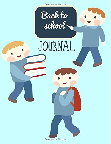 Back To School Journal: Back To School Notebooks (School Supplies For Students)(Notebooks for School)(Composition College Ruled 8.5 x 11)(V25)