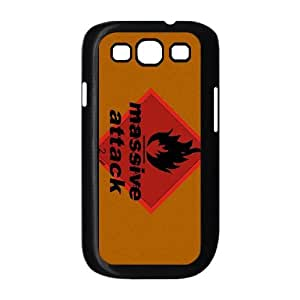 Samsung Galaxy S3 9300 Cell Phone Case Covers Black Massive Attack H3710382