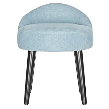 Brinda Vanity Chair in Light Blue