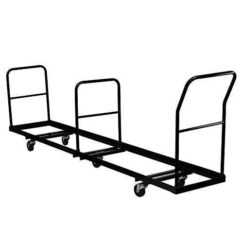 Vertical Storage Folding Chair Dolly - 50 Chair Capacity from Generic