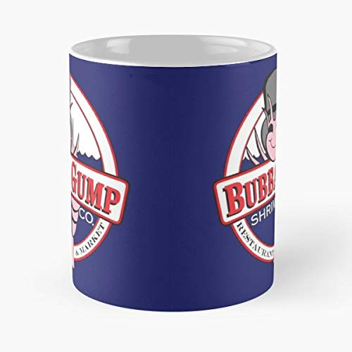 - Bubba Gump Shrimp Tom Hanks - Coffee Mug Tea Cup Gift 11oz Mugs The Best Gift Holidays.
