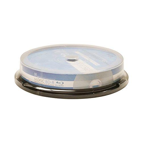 M-DISC 25GB Blu-ray White Inkjet Permanent Data Archival / B