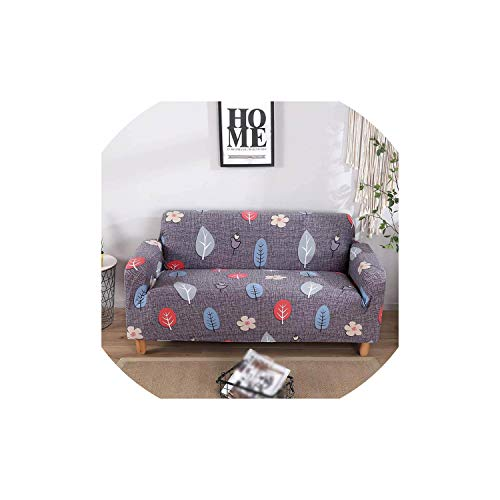 4.1c Slip - C-J-Shop Gray Sofa Cover Stretch Furniture Covers Elastic Sofa Covers for Living Room Slipcover Sofa seat Cover Spandex Couch 1-4 Seater,Color 4,1-Seater(90-140cm)