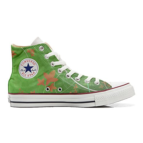 Converse Customized Chaussures Coutume (produit artisanal) Green Fantasy